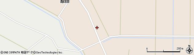 山形県尾花沢市原田1004周辺の地図
