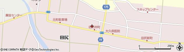宮城県大崎市田尻(町)周辺の地図