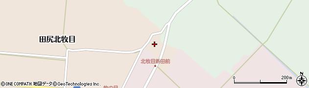 宮城県大崎市田尻北牧目(新田前)周辺の地図