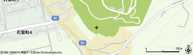 山形県尾花沢市尾花沢新町周辺の地図