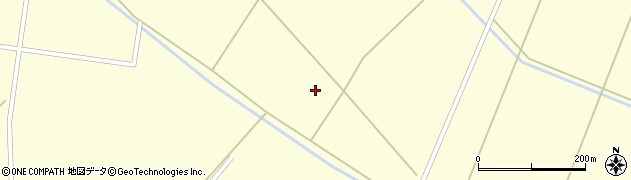 宮城県大崎市田尻大貫(新平井戸)周辺の地図