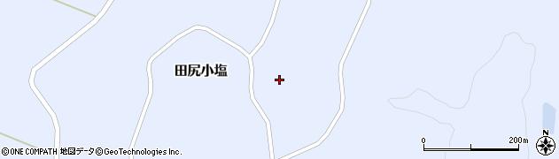宮城県大崎市田尻小塩(袖沢一)周辺の地図