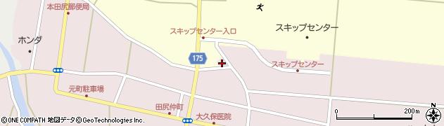 宮城県大崎市田尻(町浦東)周辺の地図