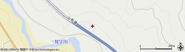 山形自動車道周辺の地図