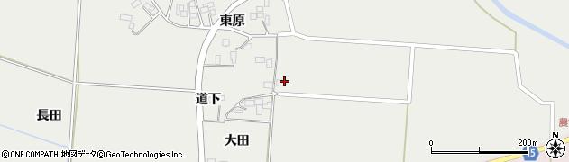 宮城県大崎市田尻中目(大田)周辺の地図