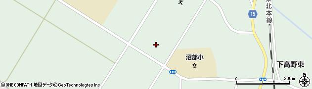 宮城県大崎市田尻沼部(寺田)周辺の地図