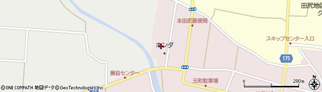 宮城県大崎市田尻(新町浦)周辺の地図