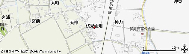 宮城県大崎市古川大崎(伏見雨畑)周辺の地図