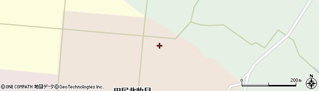 宮城県大崎市田尻北牧目(原田)周辺の地図