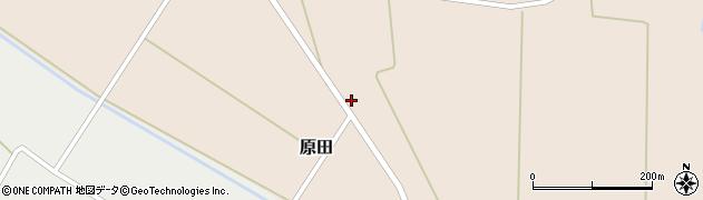 山形県尾花沢市原田553周辺の地図