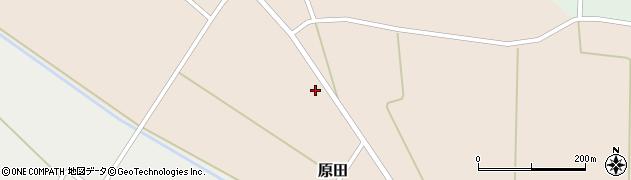 山形県尾花沢市原田768周辺の地図