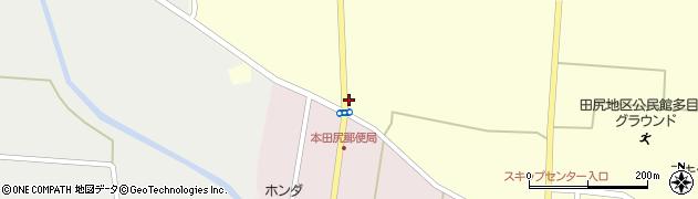 宮城県大崎市田尻通木(一本柳)周辺の地図