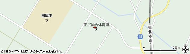 宮城県大崎市田尻沼部(早稲田)周辺の地図