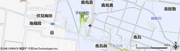 宮城県大崎市古川大崎(伏見戸代)周辺の地図