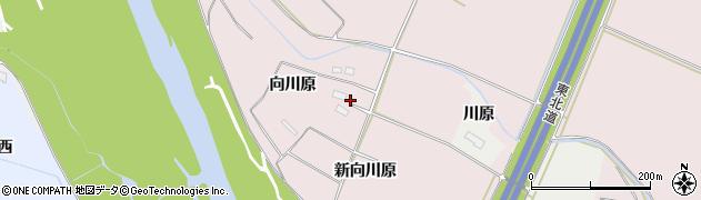 宮城県大崎市古川小林(向川原)周辺の地図