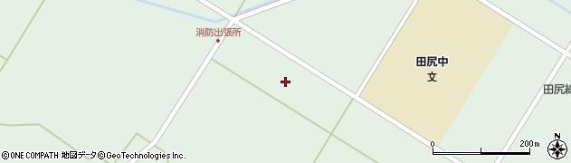 宮城県大崎市田尻沼部(新堀)周辺の地図
