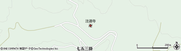 山形県鶴岡市大網(中台)周辺の地図