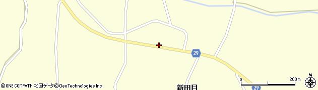 宮城県大崎市田尻大貫(狩野)周辺の地図