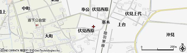 宮城県大崎市古川大崎(奉公)周辺の地図