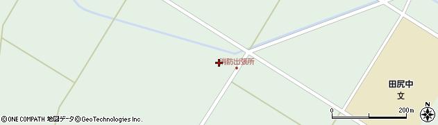 宮城県大崎市田尻沼部(新南待)周辺の地図