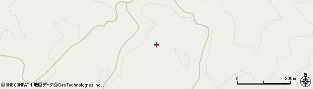 山形県鶴岡市越中山(莇平)周辺の地図