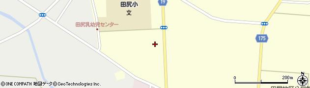 宮城県大崎市田尻通木(新一所谷)周辺の地図