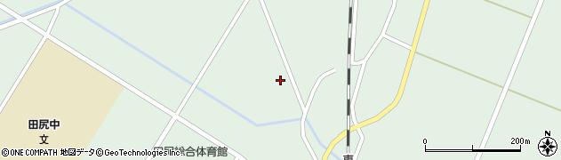 宮城県大崎市田尻沼部(新家前)周辺の地図