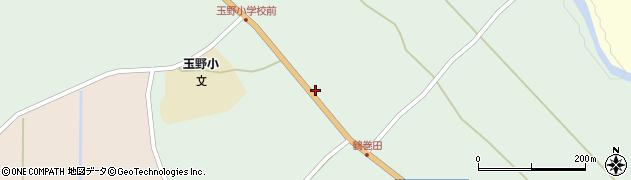 山形県尾花沢市鶴巻田391周辺の地図