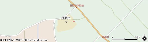山形県尾花沢市鶴巻田597周辺の地図