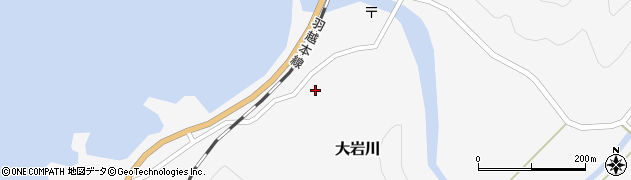 山形県鶴岡市大岩川(乙)周辺の地図