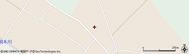 山形県尾花沢市原田701周辺の地図