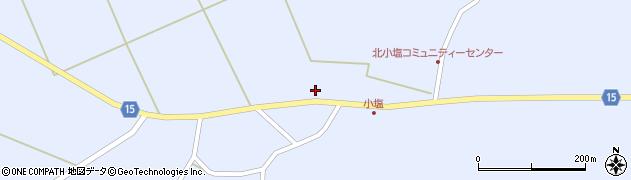 宮城県大崎市田尻小塩(要害二)周辺の地図