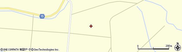 宮城県大崎市田尻大貫(中谷地)周辺の地図