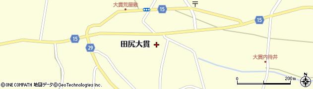宮城県大崎市田尻大貫(砂堤下)周辺の地図