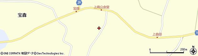 宮城県大崎市田尻大貫(引地西)周辺の地図