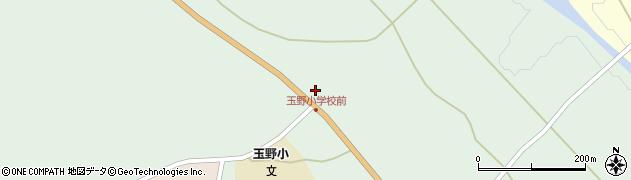 山形県尾花沢市鶴巻田371周辺の地図