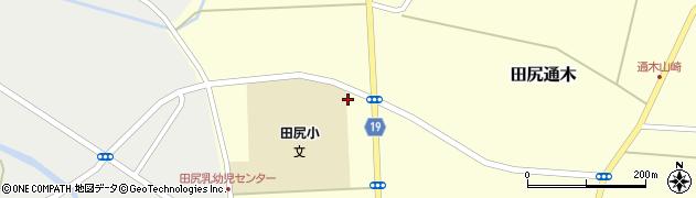 宮城県大崎市田尻通木(一所谷)周辺の地図