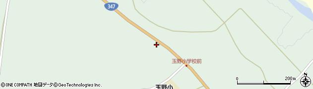 山形県尾花沢市鶴巻田363周辺の地図