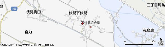 宮城県大崎市古川大崎(伏見原水)周辺の地図