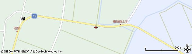 宮城県大崎市田尻沼部(横須賀前)周辺の地図