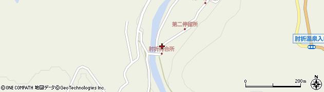 山形県最上郡大蔵村南山536周辺の地図