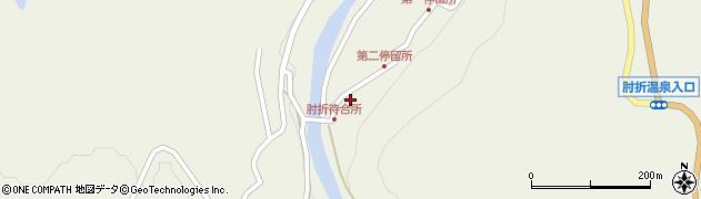 山形県最上郡大蔵村南山532周辺の地図