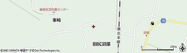 宮城県大崎市田尻沼部(家前)周辺の地図