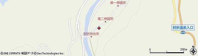 山形県最上郡大蔵村南山527周辺の地図