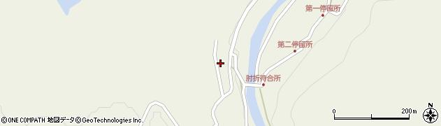 山形県最上郡大蔵村南山2126周辺の地図
