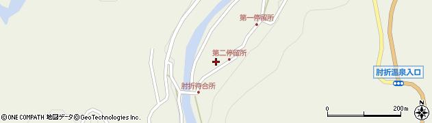 山形県最上郡大蔵村南山526周辺の地図