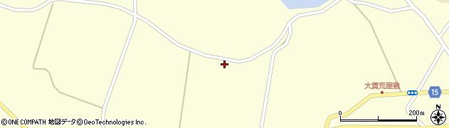 宮城県大崎市田尻大貫(古舘前)周辺の地図
