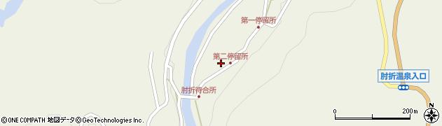 山形県最上郡大蔵村南山522周辺の地図