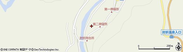 山形県最上郡大蔵村南山533周辺の地図