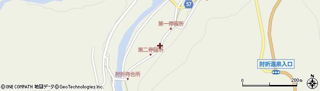 山形県最上郡大蔵村南山505周辺の地図